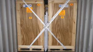 contenedor con carga